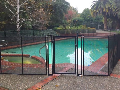 Palo Alto Pool Fence