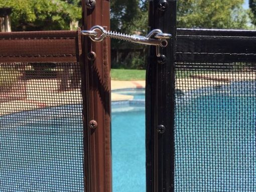 Saratoga Pool Safety Fence