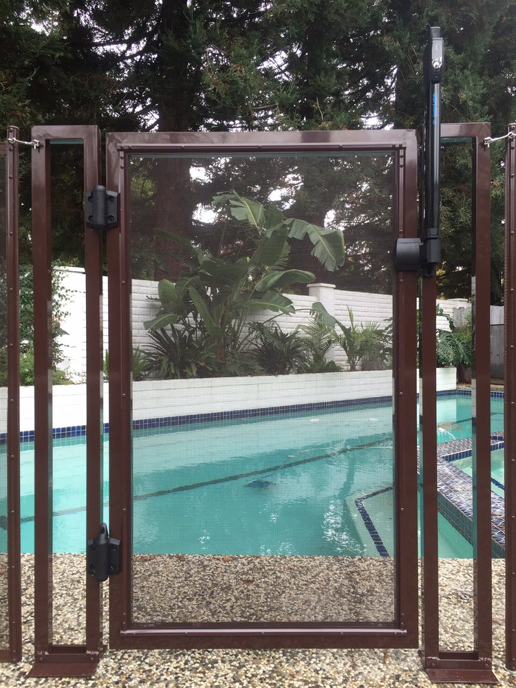 Cupertino Pool Fences Baby Barrier Pool Fence Of San Jose