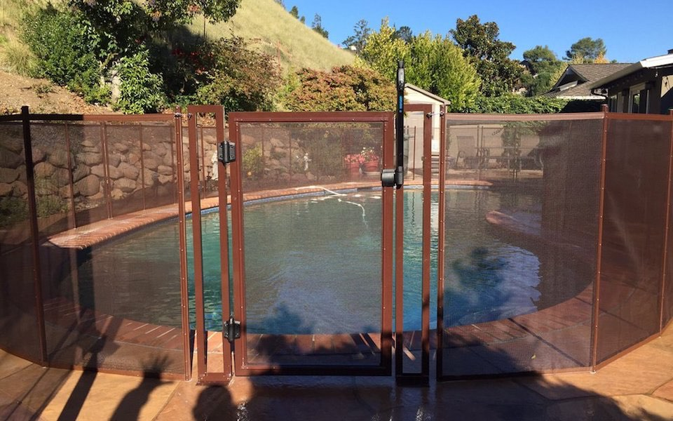 Danville Pool Fence Baby Barrier Pool Fence Of San Jose