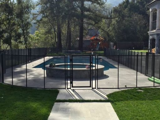 Los Gatos Pool Safety Fence