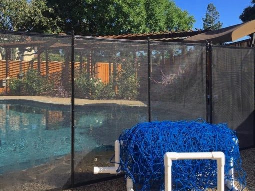 Mountain View Pool Safety Fence