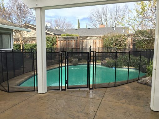 Livermore California Pool Fence