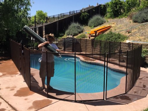 Pool Fence Gallery Baby Barrier Pool Fence Of San Jose