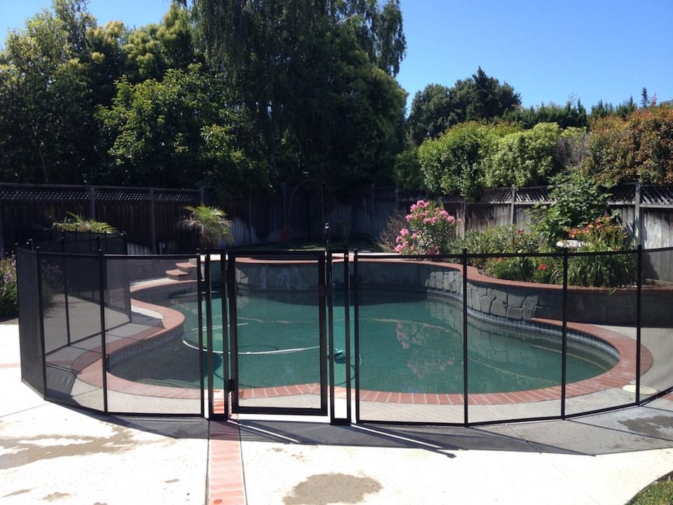 Baby Barrier Almaden Pool Fence