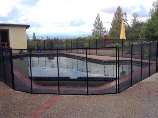 Los Altos Pool Safety Fence
