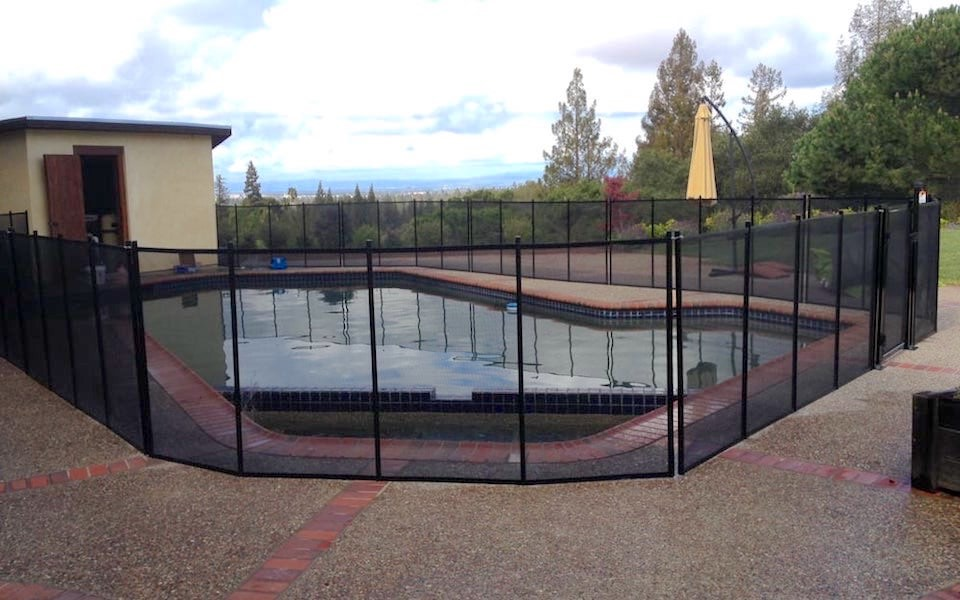 Baby Barrier Los Altos Pool Fence