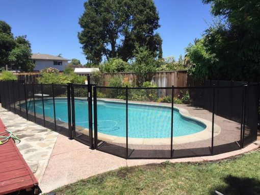 Almaden Pool Safety Fence