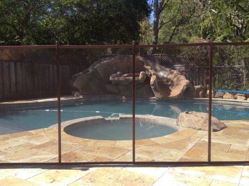 Pleasanton Pool Fence