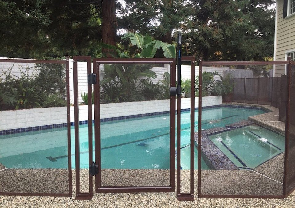 Baby Barrier Pool Fence Redwood City