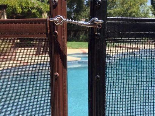 Saratoga Pool Safety Fence