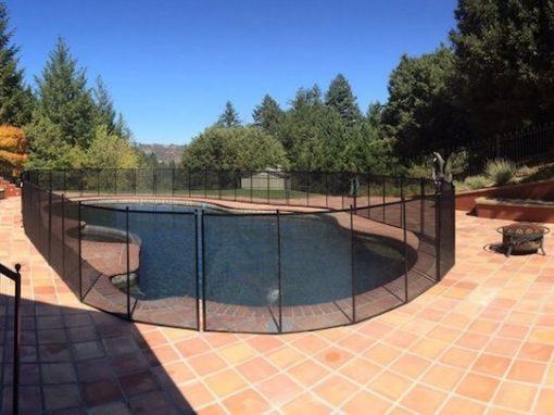 Boulder Creek Pool Fence
