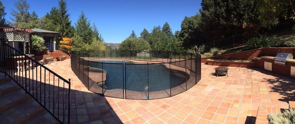 Boulder Creek Pool Fence