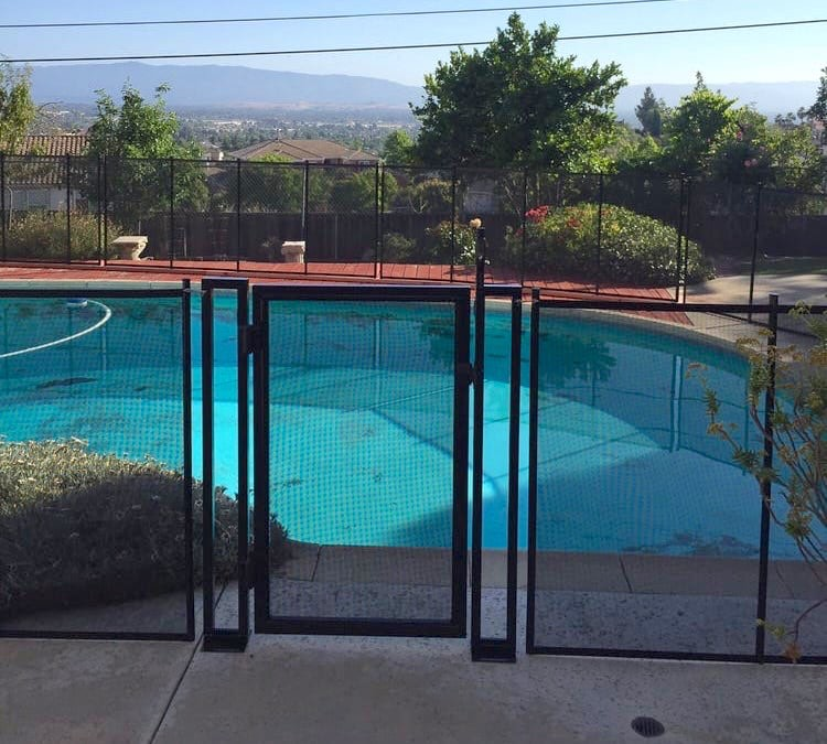 California San Jose Baby Barrier Pool Fence