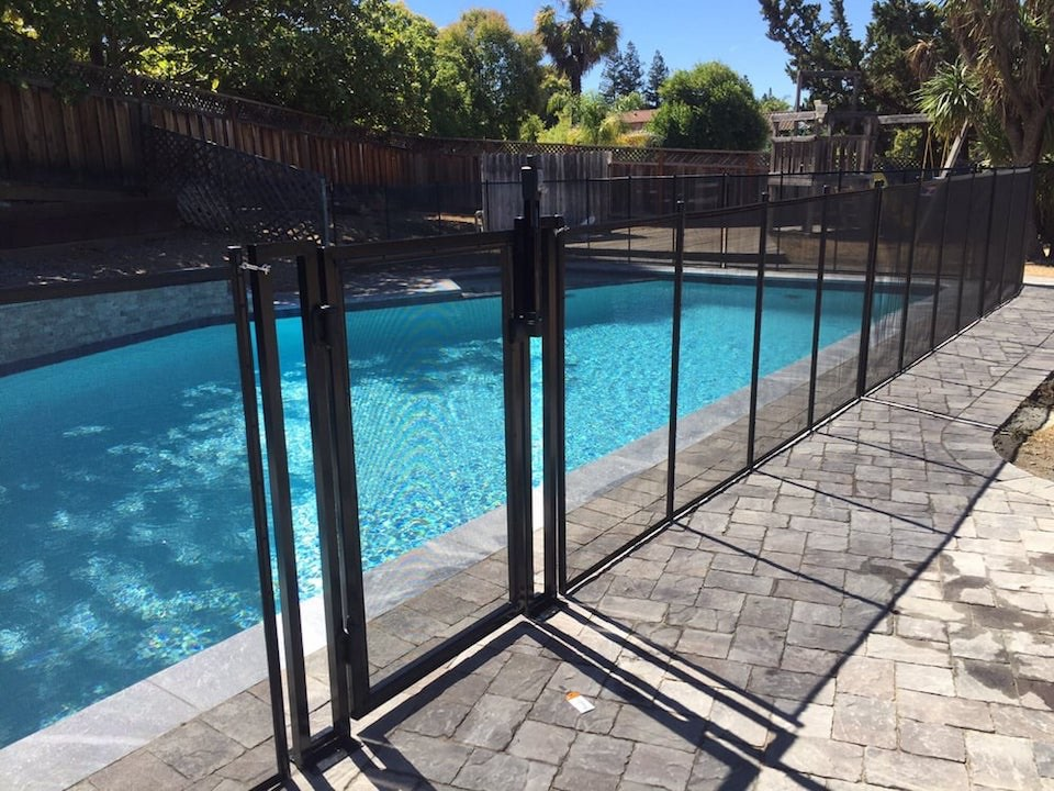 Gilroy Baby Barrier Pool Fence