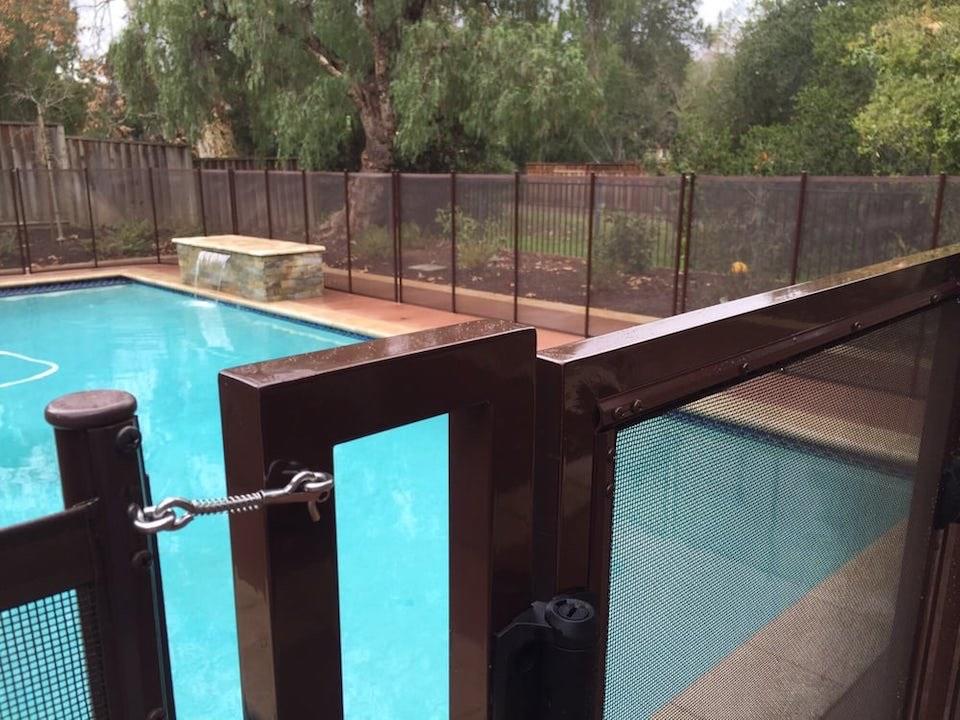 Los Altos Baby Barrier Pool Fence