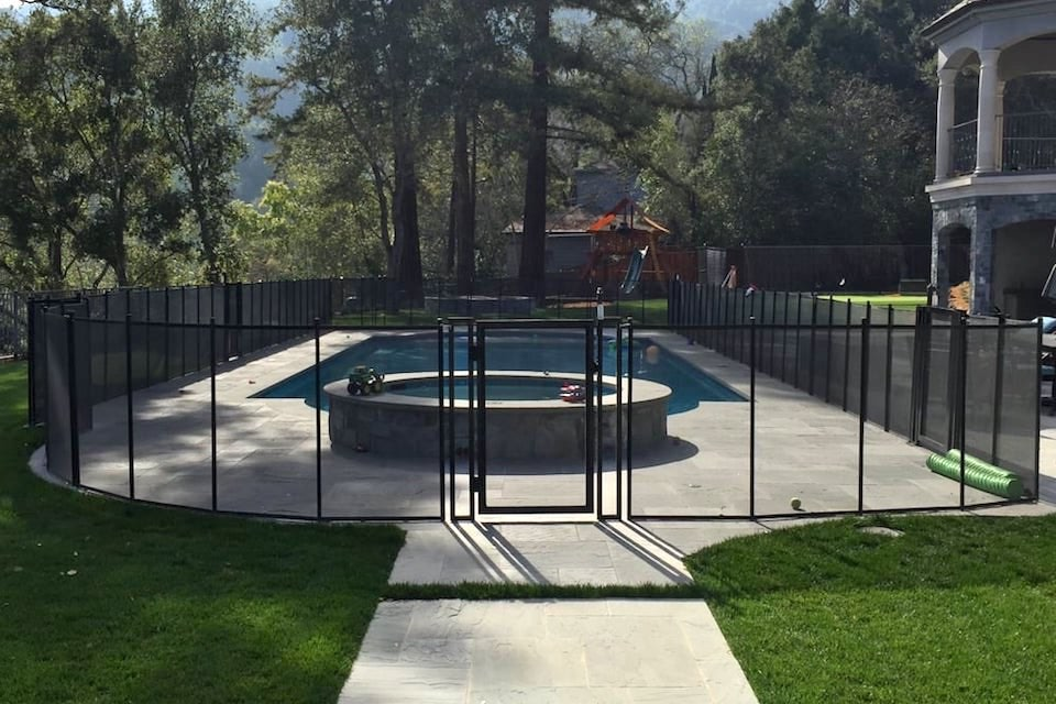 Los Gatos Baby Barrier Pool Fence
