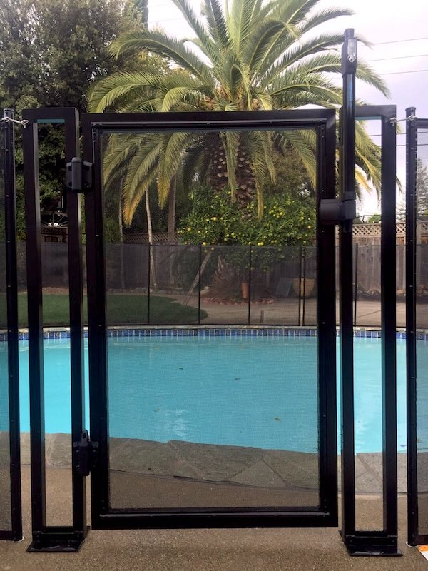 Manteca Baby Barrier Pool Fence