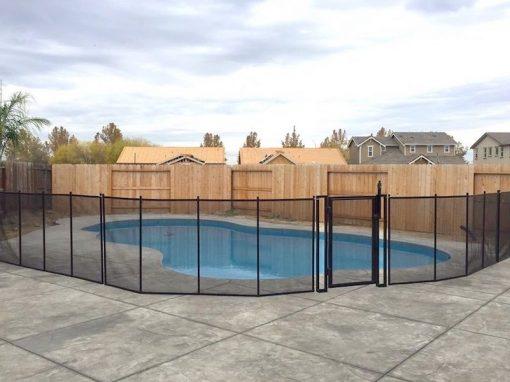 Modesto Pool Fence