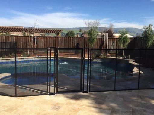 Morgan Hill Pool Fence