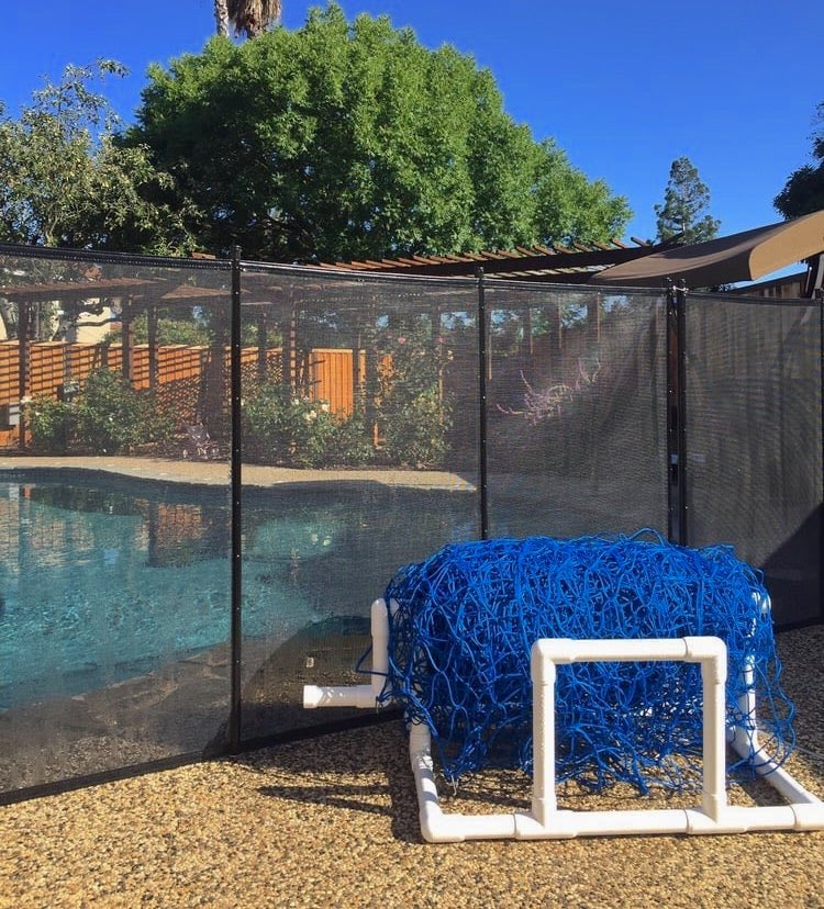 Mountain View Baby Barrier Pool Fence