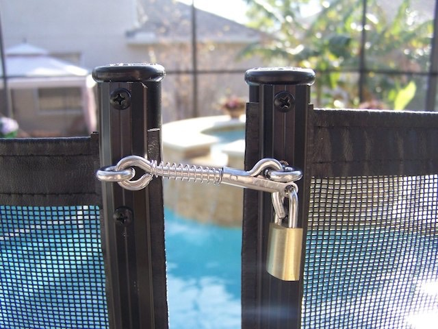 Pool Fence Locked