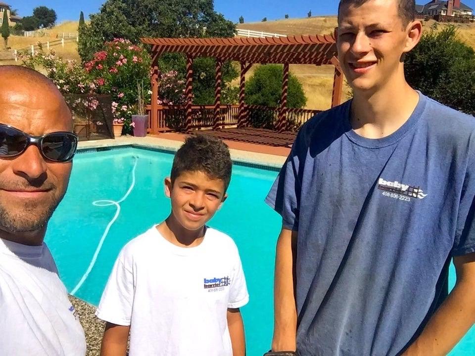 Pool Helpers Baby Barrier Pool Fence