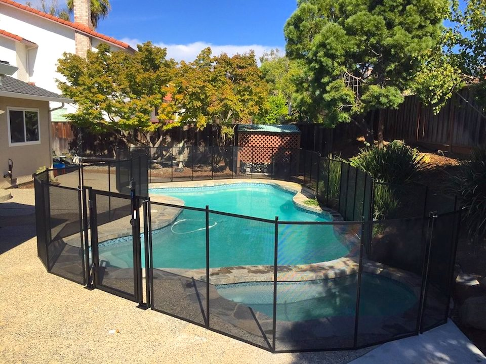 San Jose Cali Baby Barrier Pool Fence