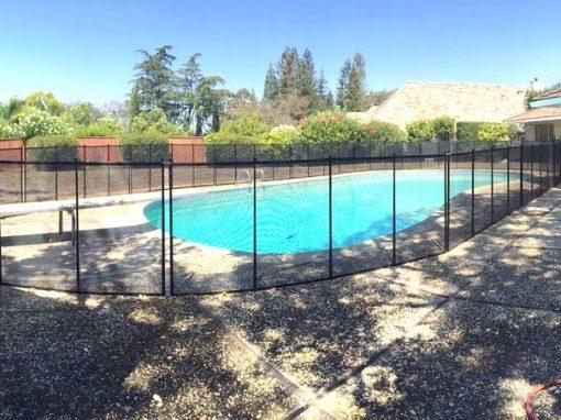 Saratoga Pool Fence