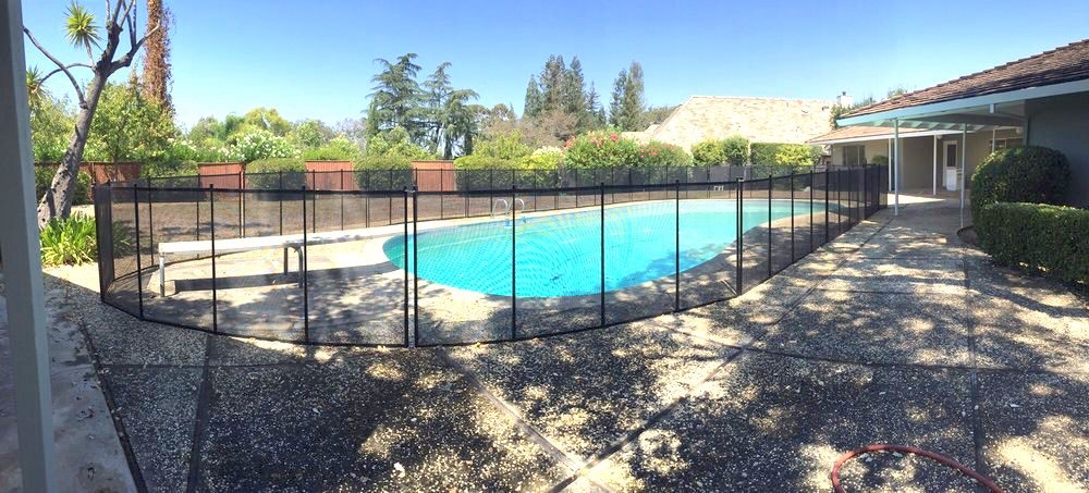 Saratoga Pool Fence Baby Barrier 174 Pool Fence Of San Jose
