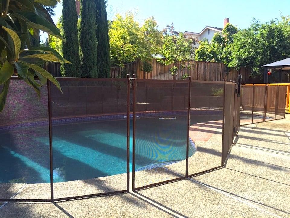 Sunnyvale Baby Barrier Pool Fence