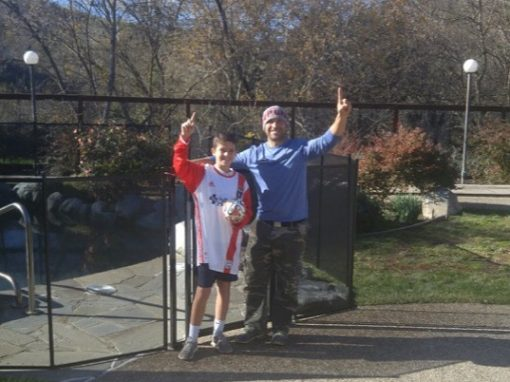 Pool Fence in Danville