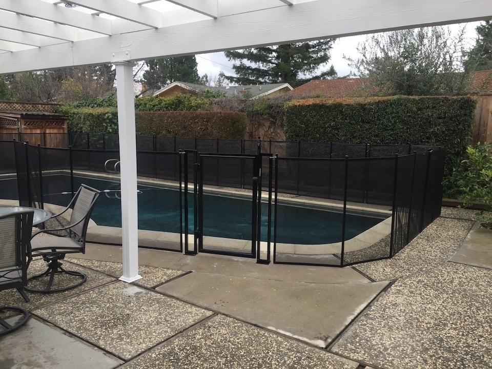 Almaden Pool Fence California