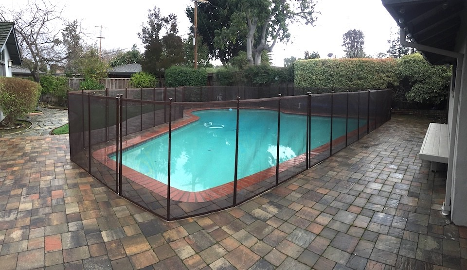 Willow Glenn Pool Fence