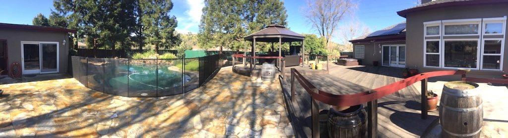 Pool Fence California Morgan Hill