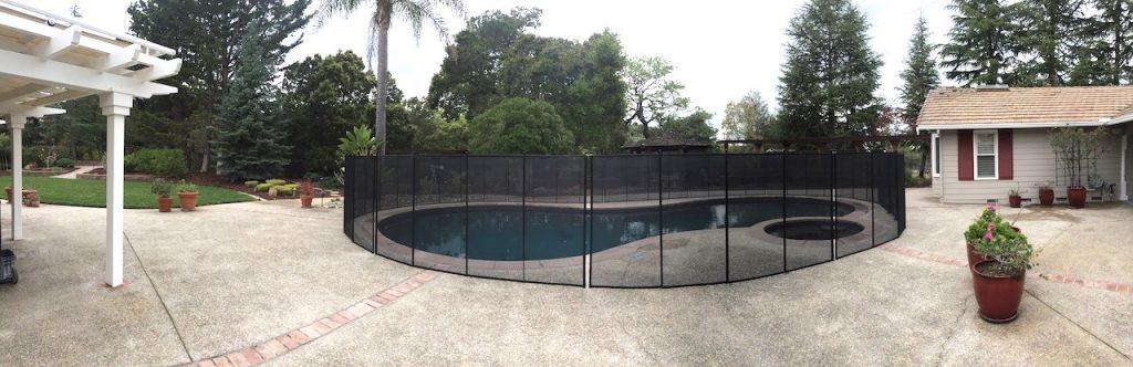 Pool Fence California Saratoga