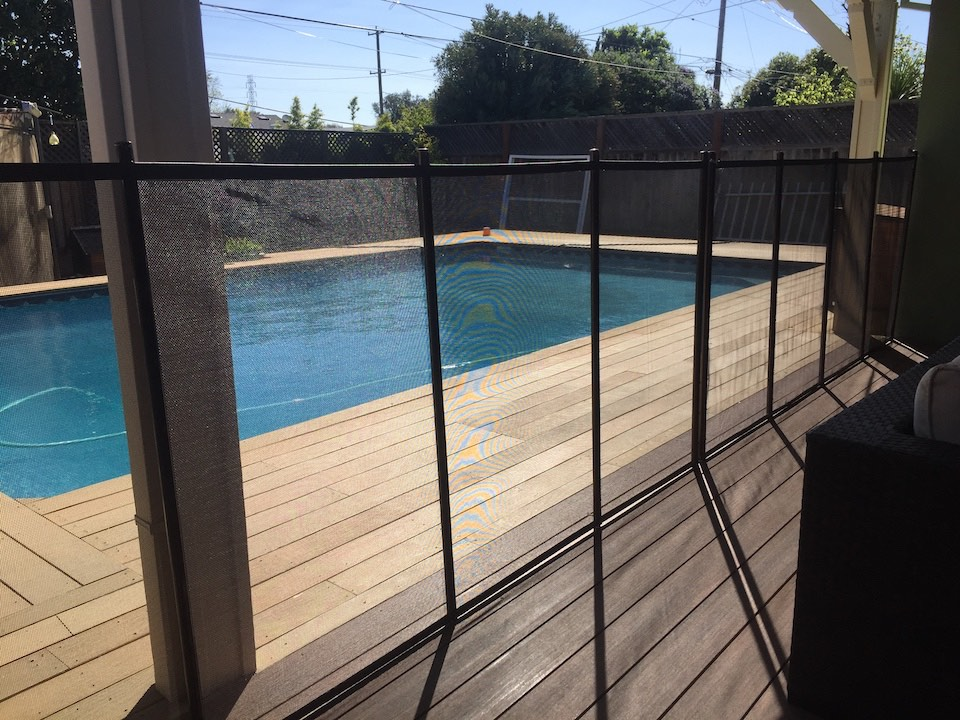 Baby Barrier® Pool Fence Campbell