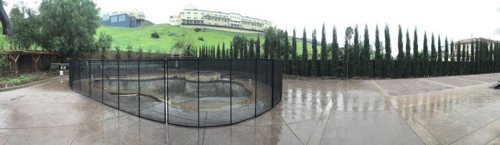 Construction Pool Fence San Jose