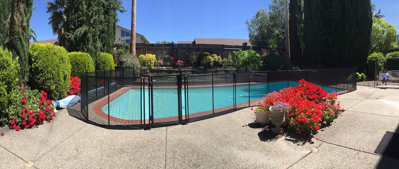 Swimming Pool Almaden Baby Barrier Pool Fence Of San Jose