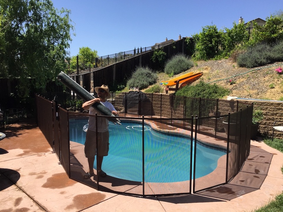 Baby Pool Fence Brentwood