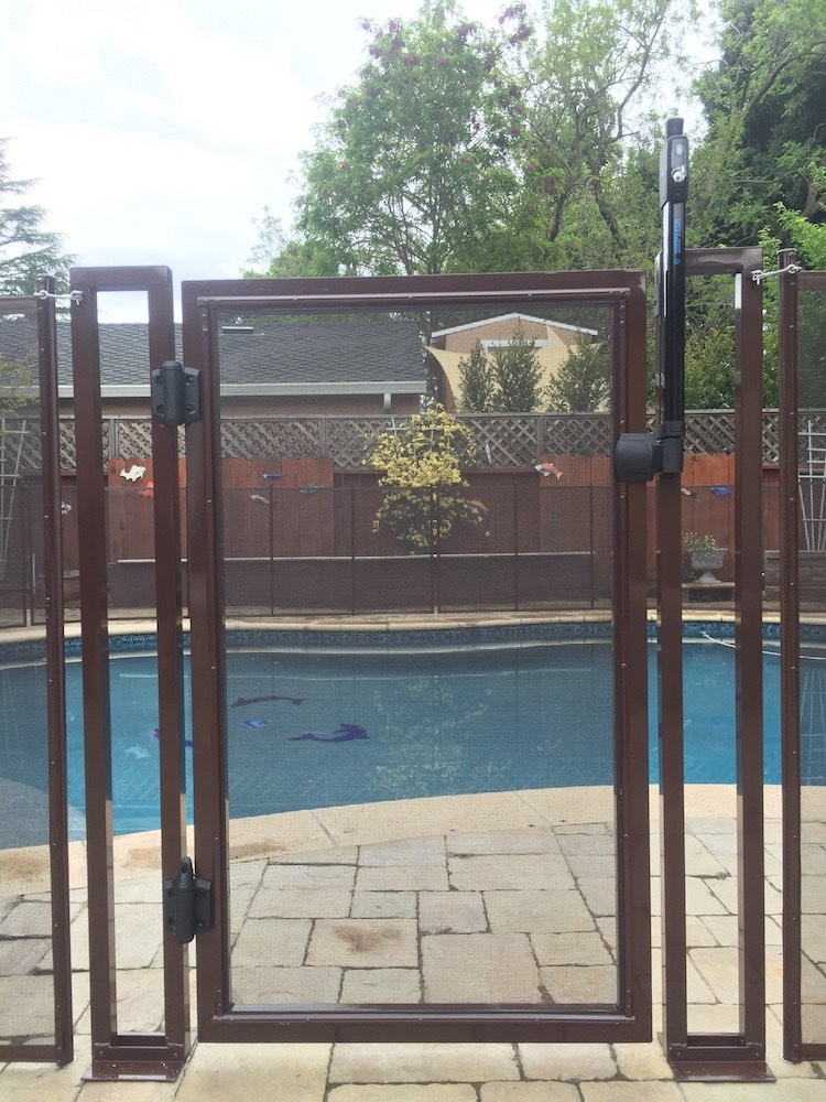 Swimming Pool Safety Gate Baby Barrier Pool Fence Of San Jose