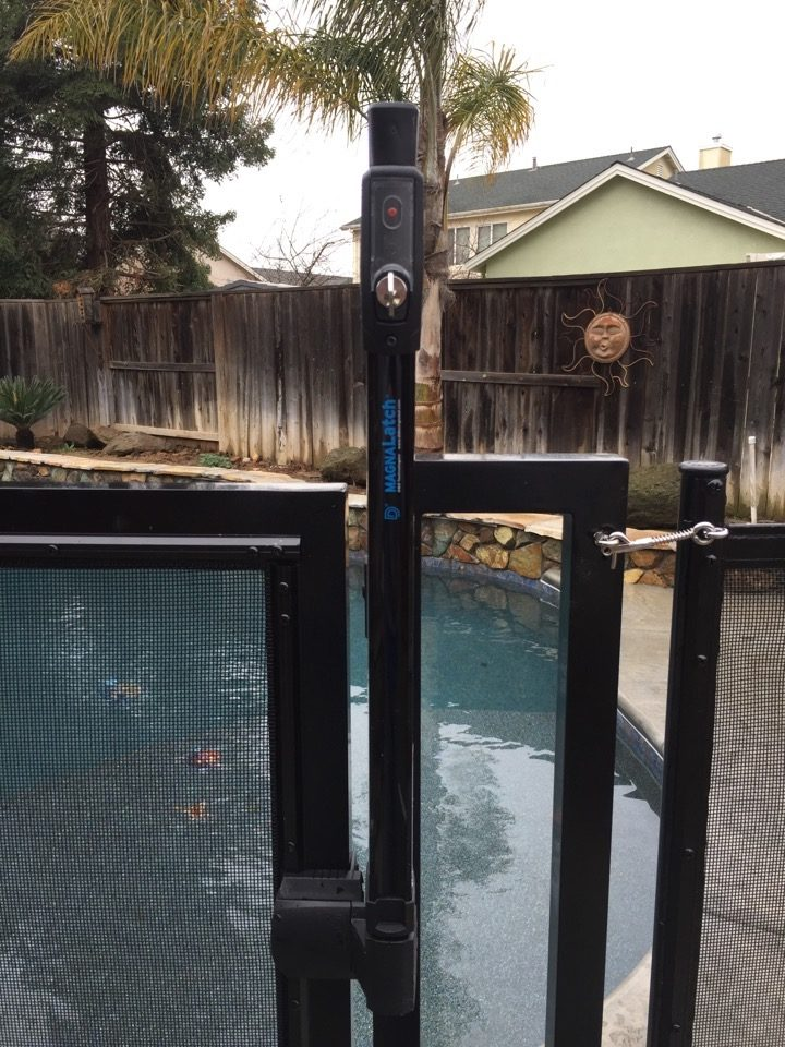 Pool Fence Gate Swimming Modesto