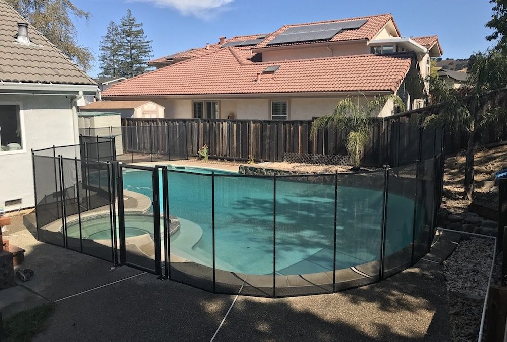 Pool Fence Almaden