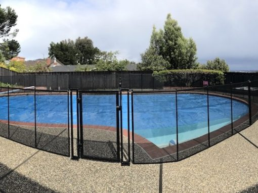 Burlingame Pool Fence