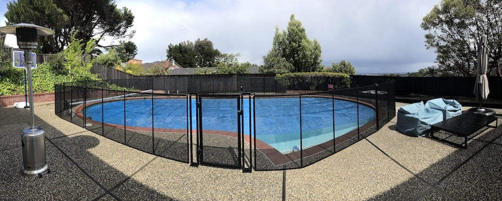 Burlingame Pool Fence