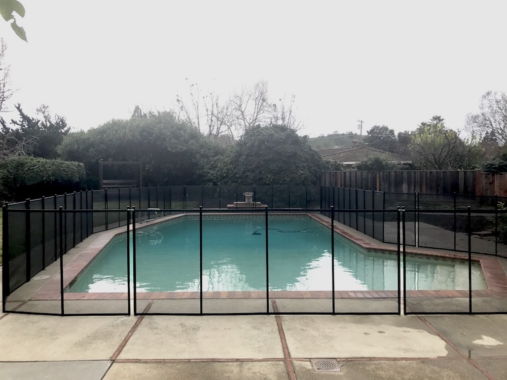 Family Swimming Pool - Baby Barrier® Pool Fence of San Jose