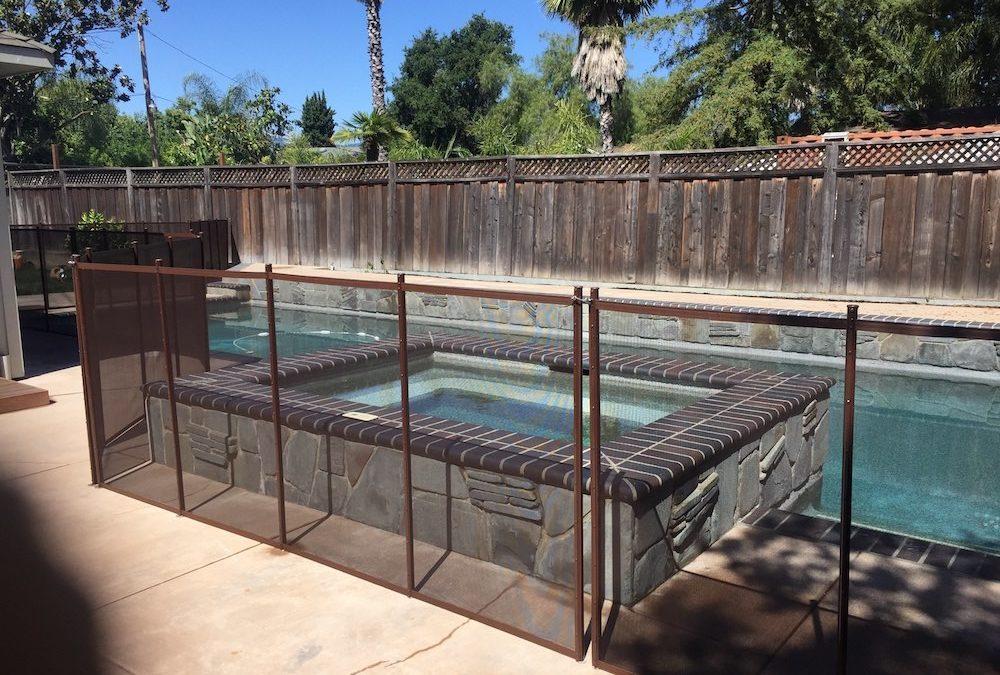 Spa Pool Fence