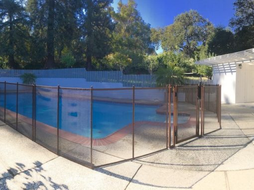 Woodside Safety Pool Fence