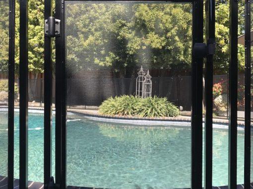 Los Altos Pool Fence Gate