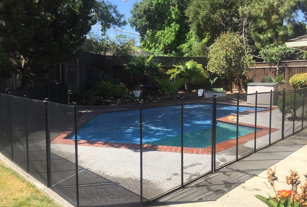 Swimming Pool Fence Saratoga